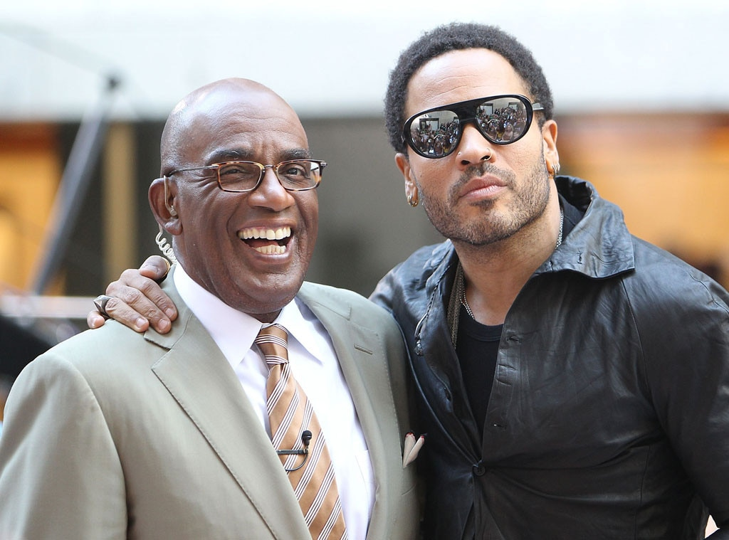 Lenny Kravitz, Al Roker
