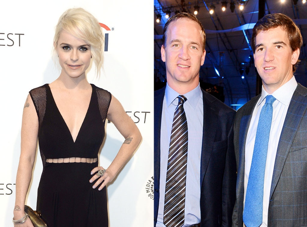 Taryn Manning, Eli Manning, Peyton Manning