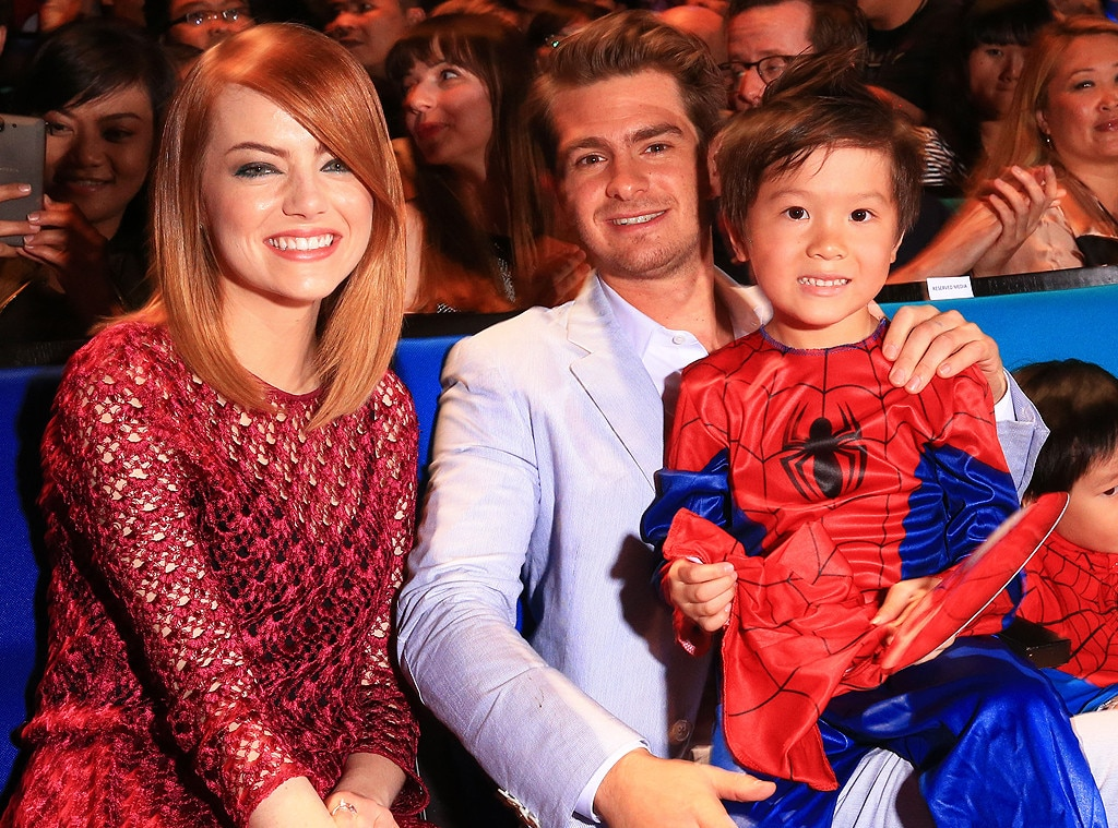 Love At First Sight From Emma Stone Andrew Garfield Romance