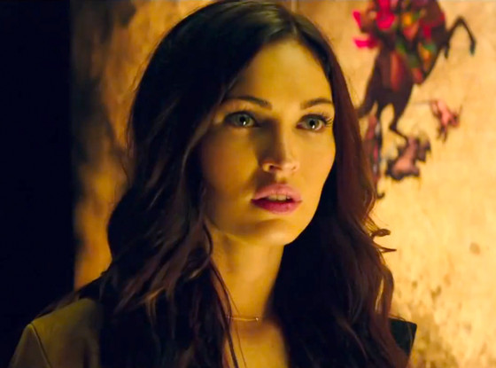 Megan Fox, Teenage Mutant Ninja Turtles, Trailer Screengrab