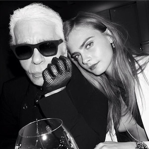 Karl Lagerfeld, Cara Deleveingne