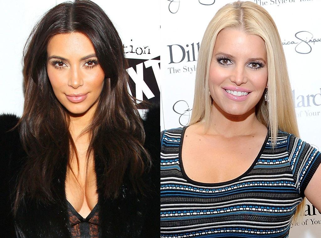 Kim Kardashian, Jessica Simpson, Same Age Gallery