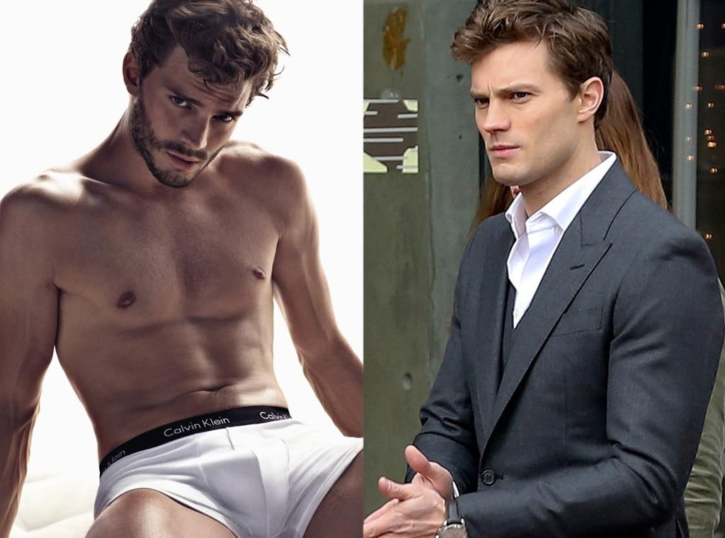 Jamie Dornan, Calvin Klein, 50 Shades of Grey