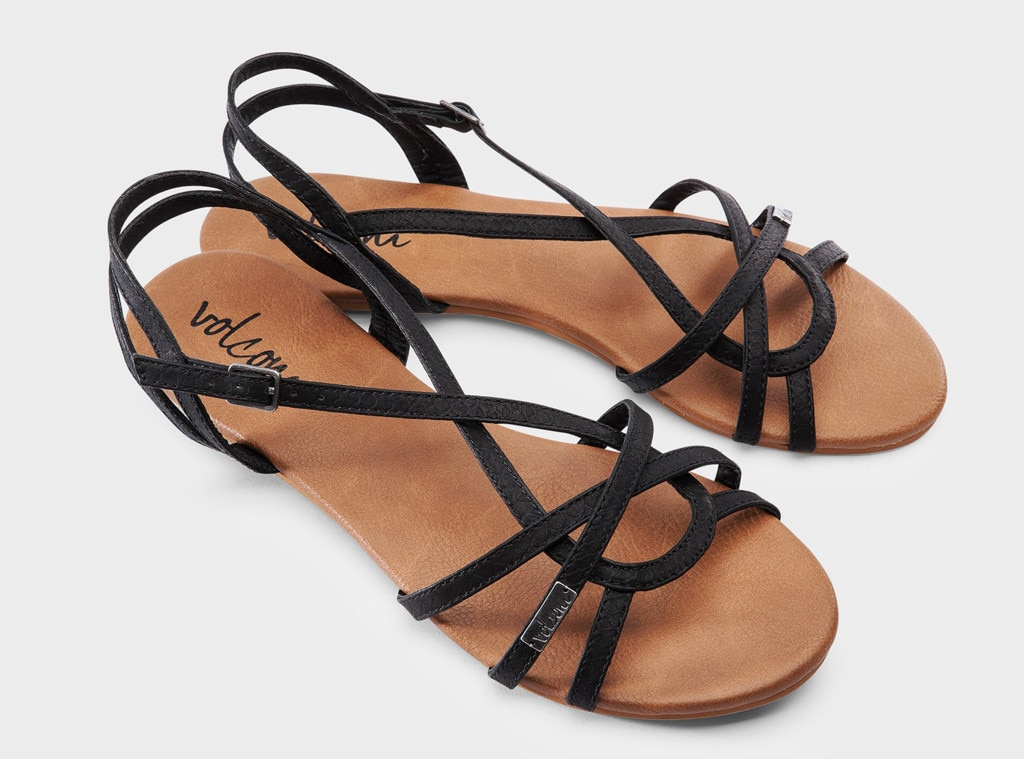 Coachella Fashion, Volcom Sandals