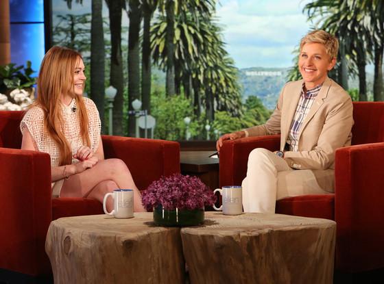 Lindsay Lohan, Ellen Degeneres