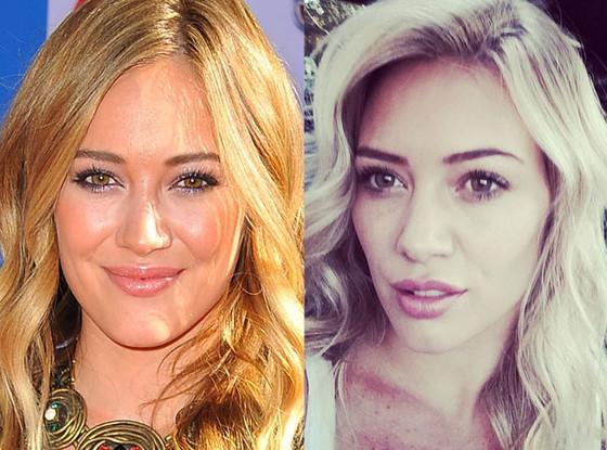 Hilary Duff, Hair