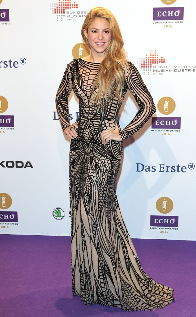 Ripped Dress from Shakira\'s Ripped Clothes Obsession