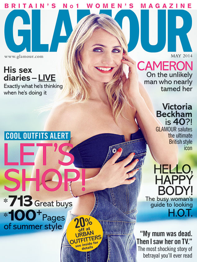 Cameron Diaz, Glamour UK
