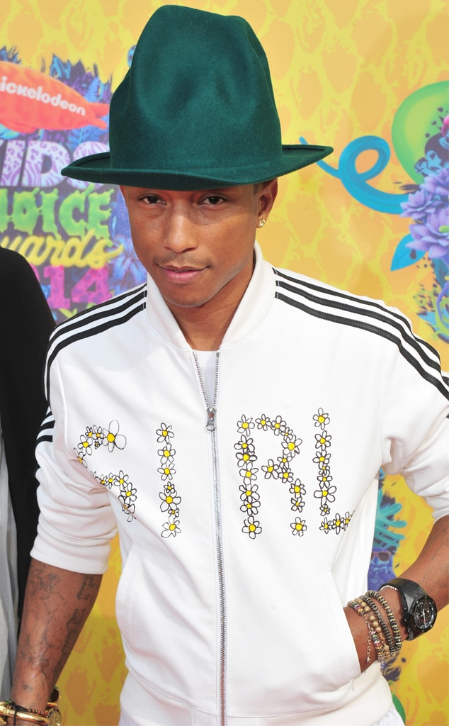 Pharrell Williams, Kids Choice Awards 2014