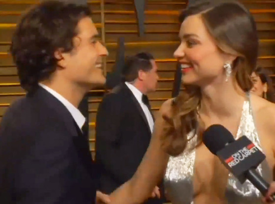 Orlando Bloom, Miranda Kerr, Oscars