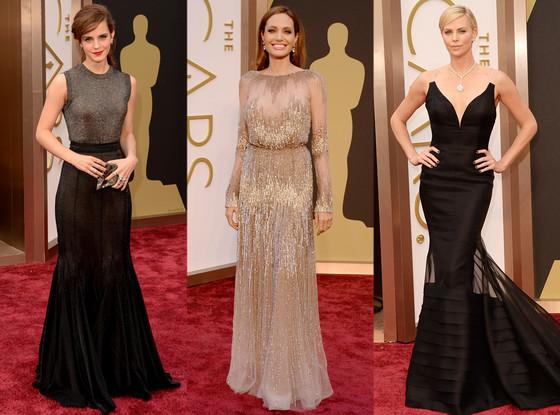 Emma Watson, Angelina Jolie, Charlize Theron, Oscars