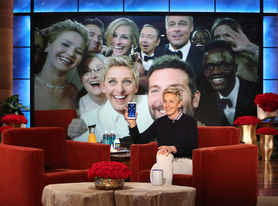 Ellen DeGeneres Says She Lost Her Cell Phone (With the Epic