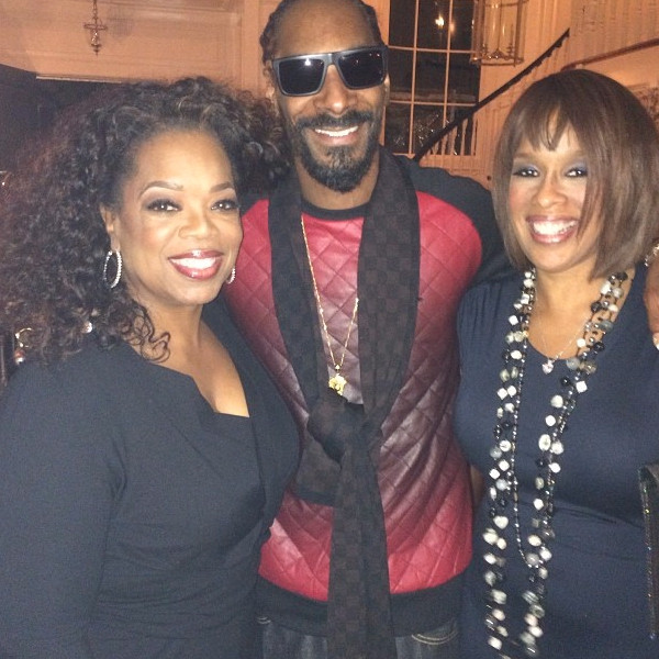 Oprah Winfrey, Gayle King, Snoop Dogg, Instagram