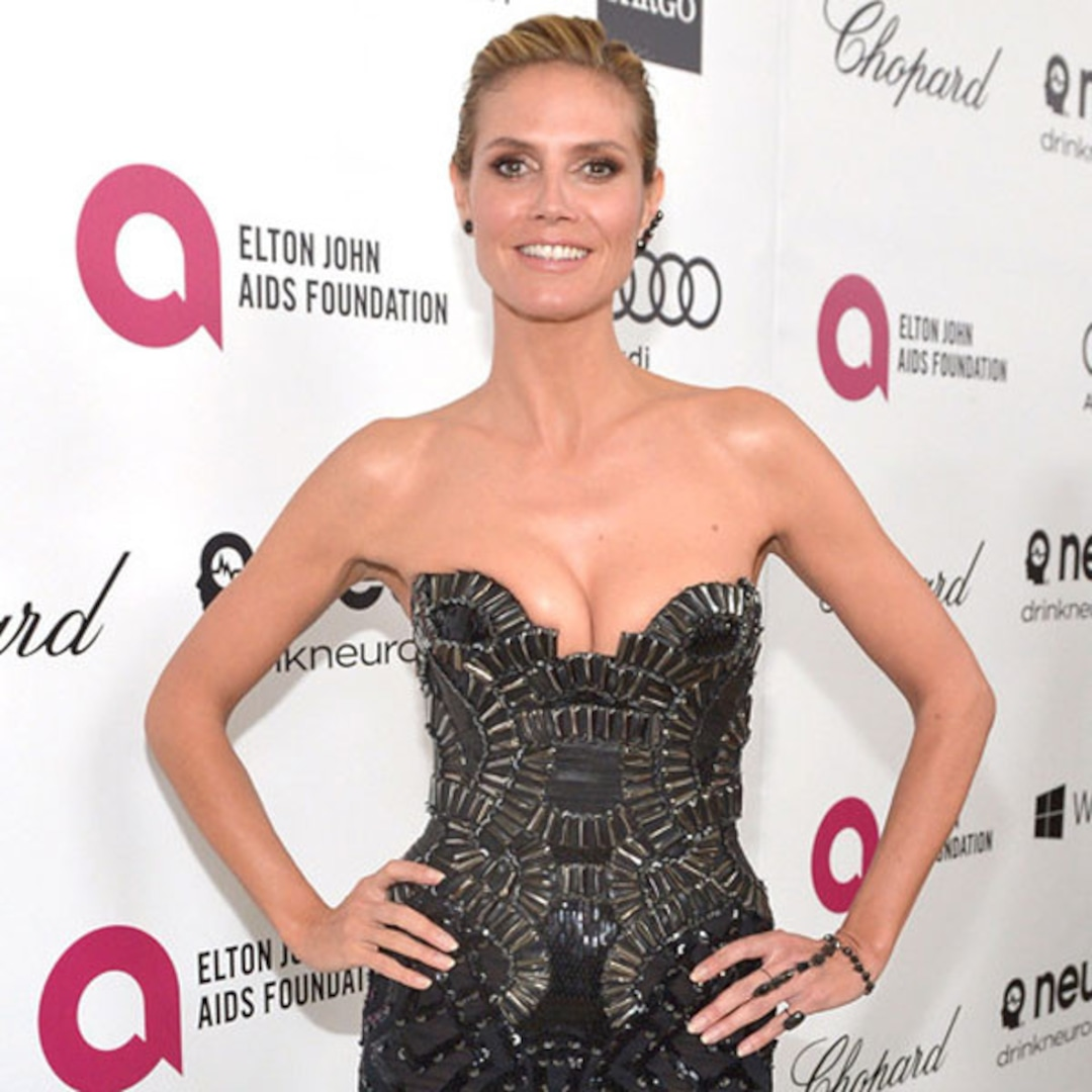 Heidi Klum's Boobs Picked the Perfect Oscars After-Party Dress - E! Online