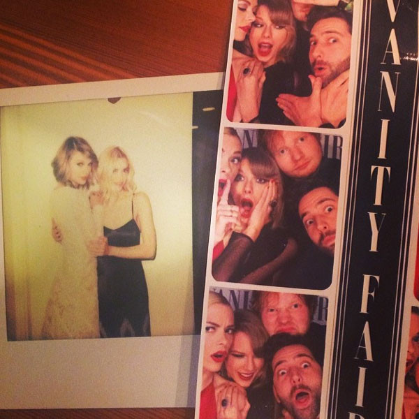 Taylor Swift, Jaime King Instagram