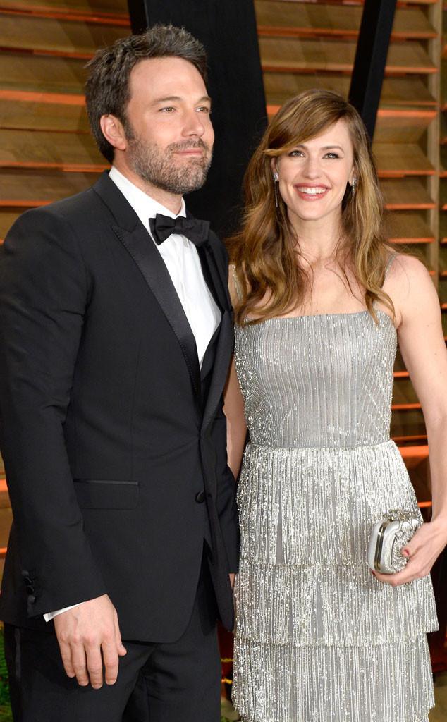 Ben Affleck, Jennifer Garner, Vanity Fair, Oscars