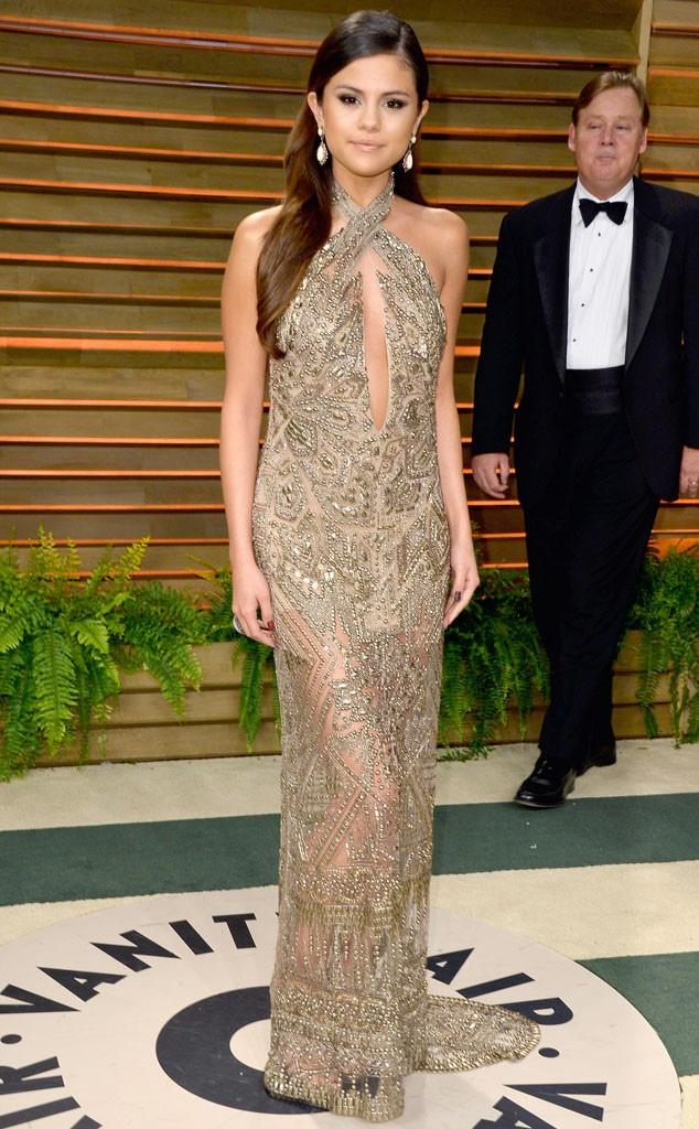 Selena Gomez, Vanity Fair, Oscars