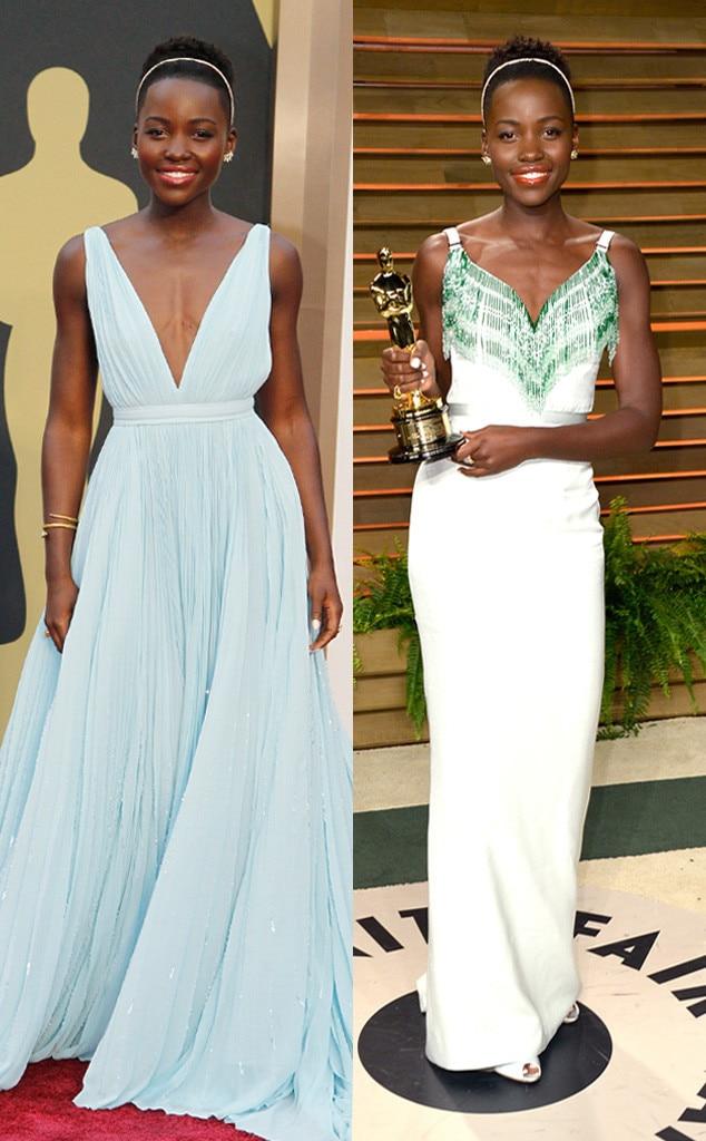 Lupita Nyong'o, Oscars, After Party Dresses