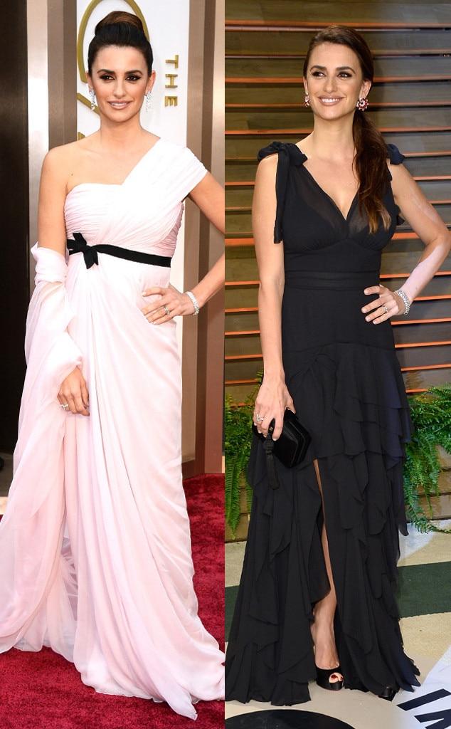 Penelope Cruz, Oscars, After Party Dresses