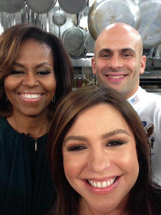 Rachael Ray, Michelle Obama