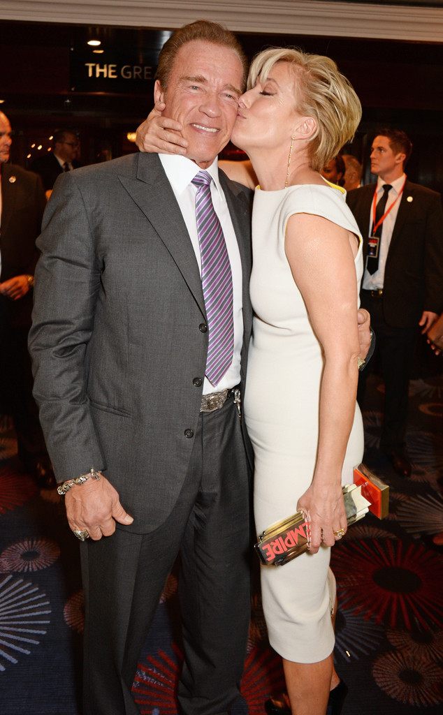 Arnold Schwarzenegger, Emma Thompson