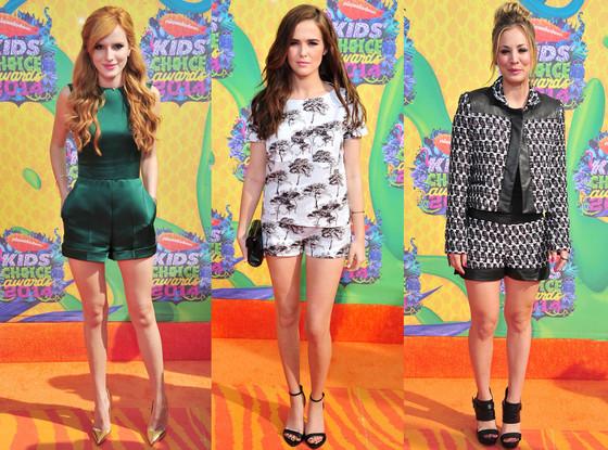 Zoey Deutch, Bella Thorne, Kaley Cuoco