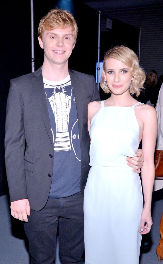 Evan Peters, Emma Roberts