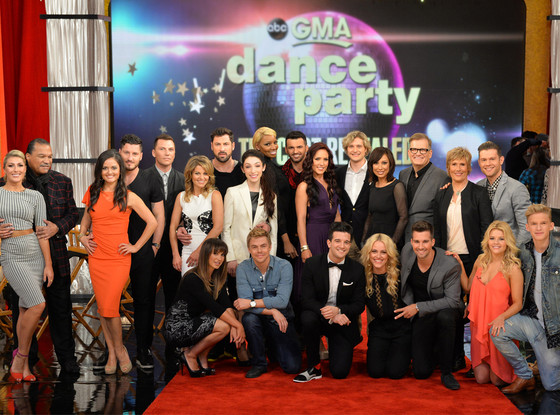 Dancing With The Stars, Cast