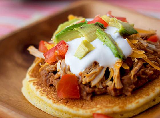 Cornbread Taco, Pancakes