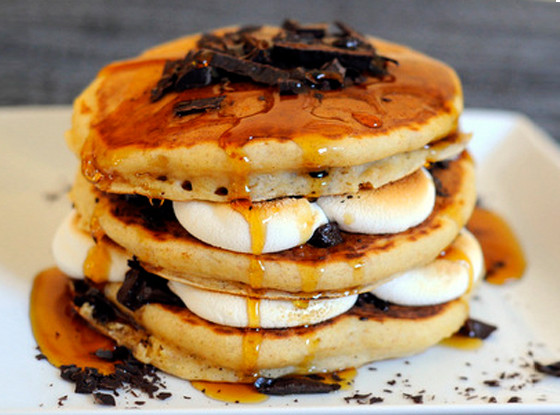 S'more, Pancakes