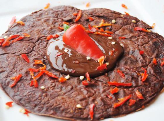 Chocolate Chili, Pancakes