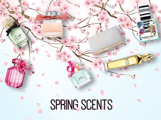Spring Fragrances, Collage