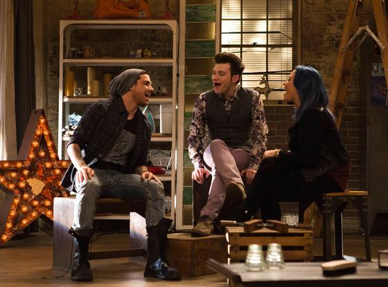 GLEE, Adam Lambert, Chris Colfer, Demi Lovato