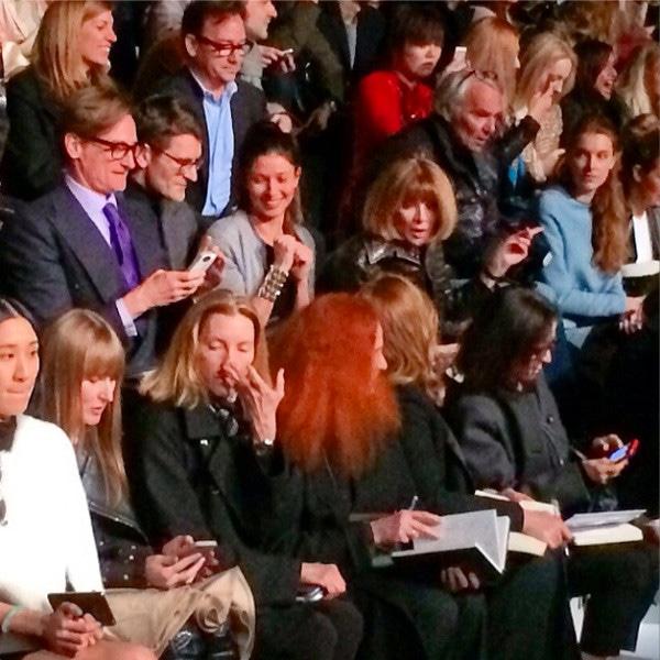 Anna Wintour, Fashion Week