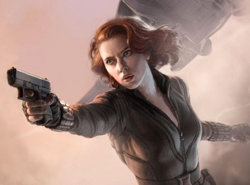 Black Widow, The Avengers, Scarlett Johansson, Famous Movie Heroines