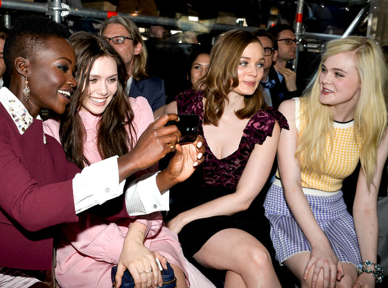 Lupita Nyong'o, Elizabeth Olsen, Elle Fanning, Bella Heathcote, Miu Miu