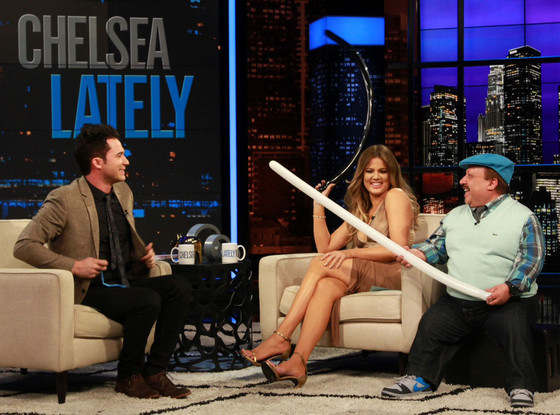 Justin Willman, Chelsea Lately, Khloe Kardashian