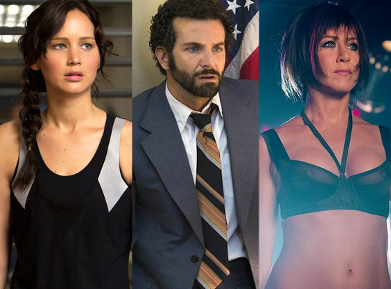 Jennifer Lawrence, Bradley Cooper, Jennifer Aniston