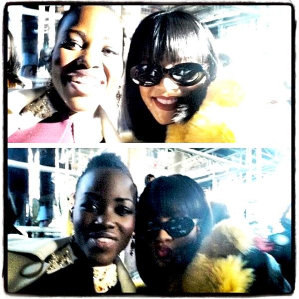 Lupita Nyong'o, Rihanna
