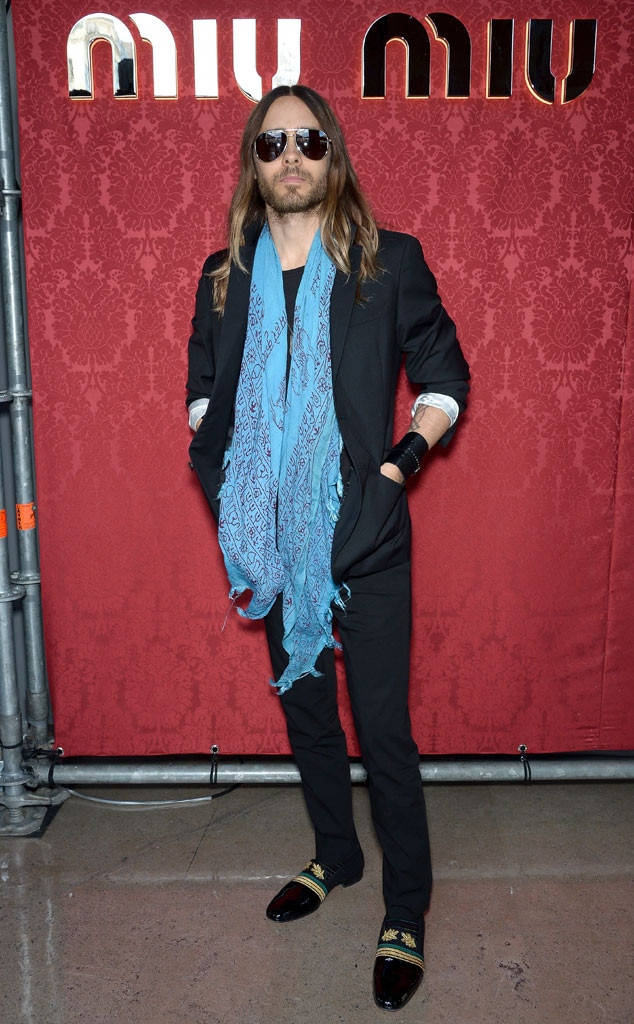 Jared Leto, Paris Fashion Week