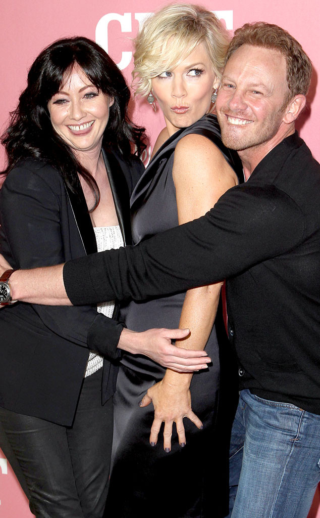 Jennie Garth And Luke Perry 2014