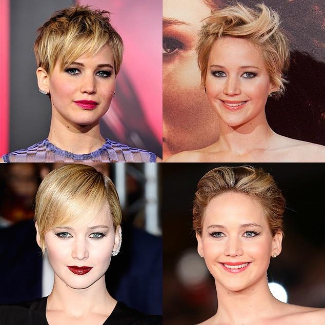 Spring Haircuts, Jennifer Lawrence