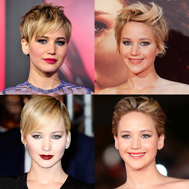 Spring Haircuts, Jennifer Lawrence