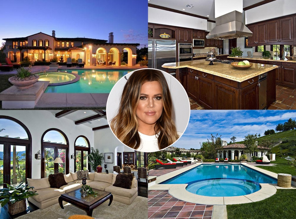 Khloe Kardashian -  She says the best revenge is a hot body, but after Khloe and  Lamar Odom  went their separate ways, the E! star made a major splash in real estate by moving into  Justin Bieber 's  9,214-square-foot abode  in Calabasas.