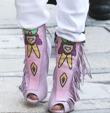 Jennifer López shoes