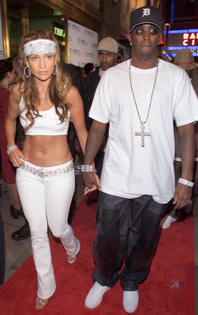"""Sean """"Diddy"""" Combs, Jennifer Lopez, VMA couples"""