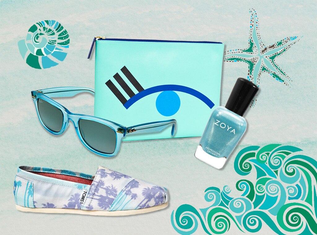Spring Colors, Cool Aqua