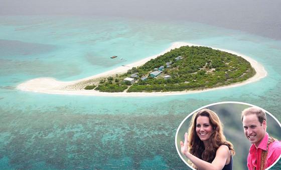 Randheli Island, Maldives, Cheval Blanc, Kate Middelton, Prince William, Duchess Catherine