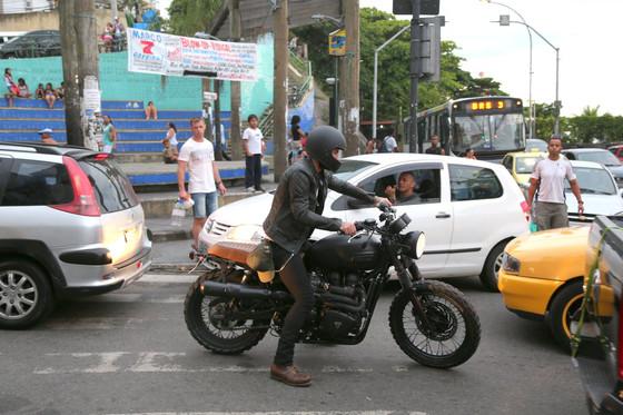 David Beckham favela Vidigal Rio de Janeiro Carnaval