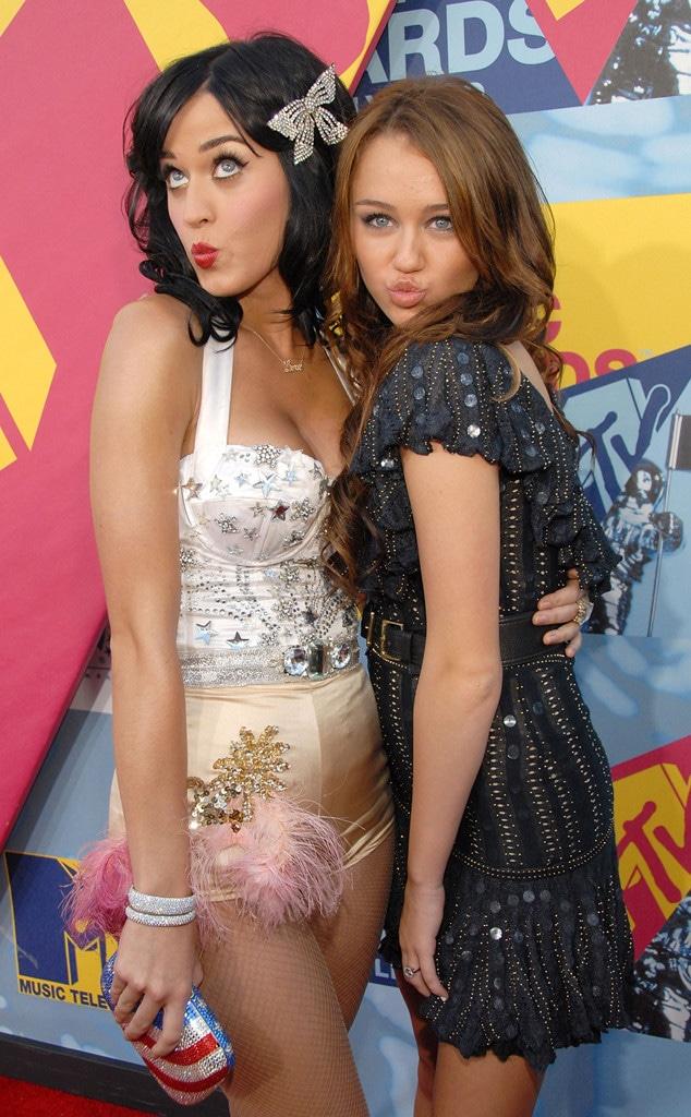Katy Perry, Miley Cyrus